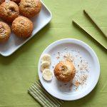 Muffin banane et pralin