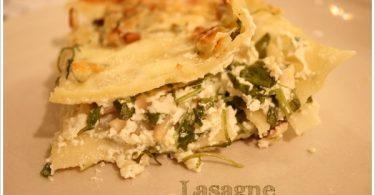Lasagnes Ricotta-Roquette-Noix