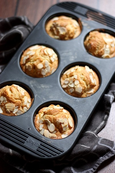 Muffins pomme et gingembre