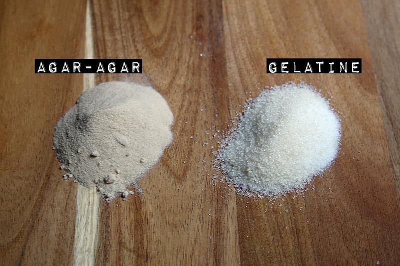 Utilisation des gélifiants en poudre