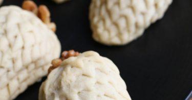 Biscuits de Noël : pomme de pin