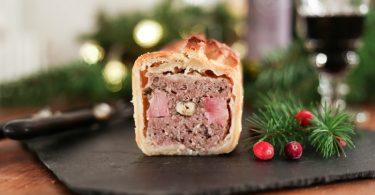 Recette de pâté en croûte de Noël