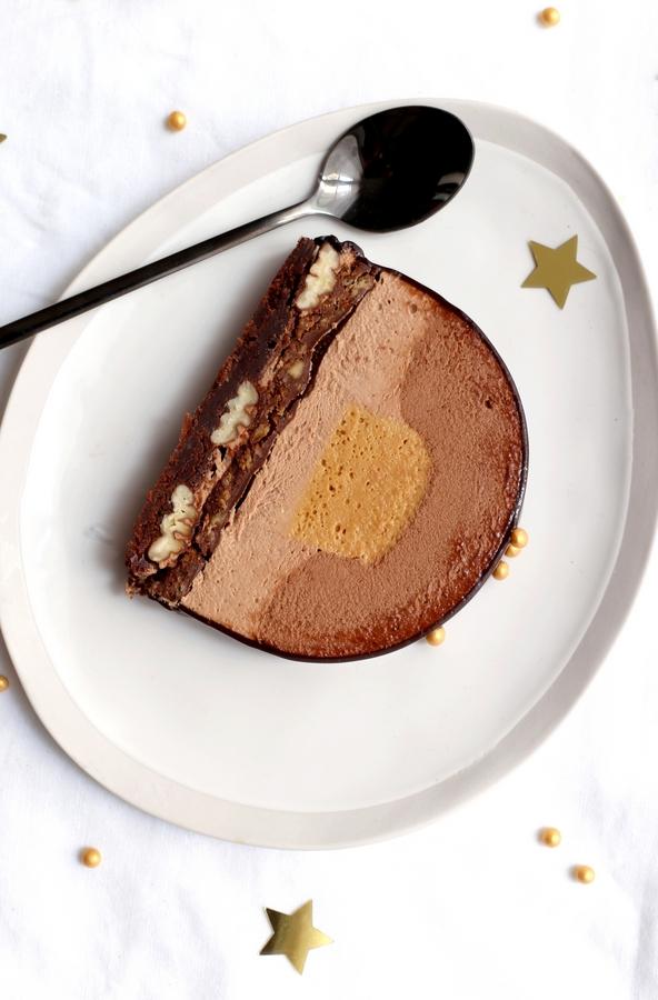 Bûche Dulcey et Chocolat