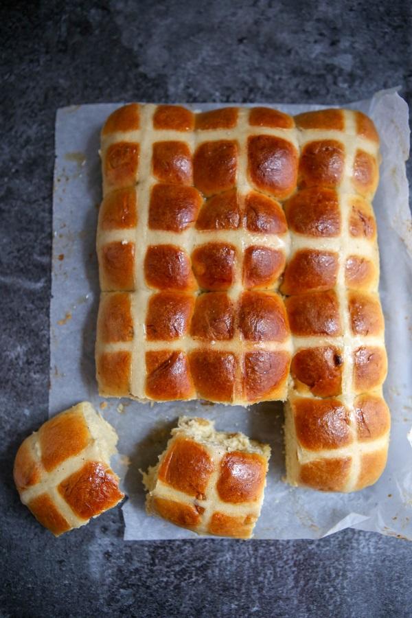 Recette de hot cross buns