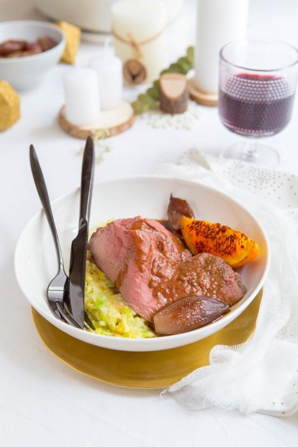 Recette de chevreuil rôti aux épices