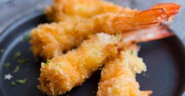 Recette de beignets de crevette