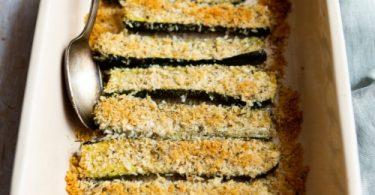 Recette de courgettes rôties au four