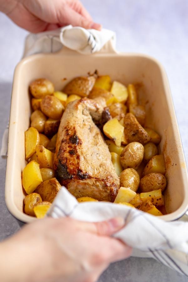 Recette de filet mignon de porc à la moutarde