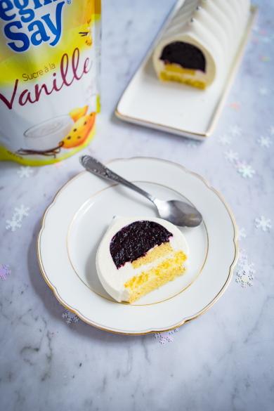 Recette de bûche à la vanille