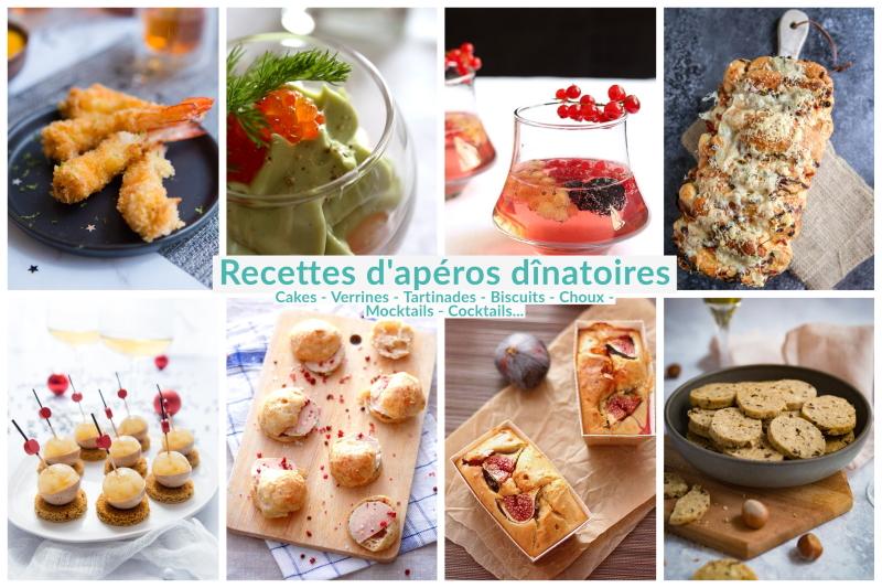 Idées recettes pour apéros dînatoires et apéritifs