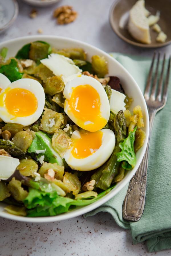 Des ravioles de Romans en salade