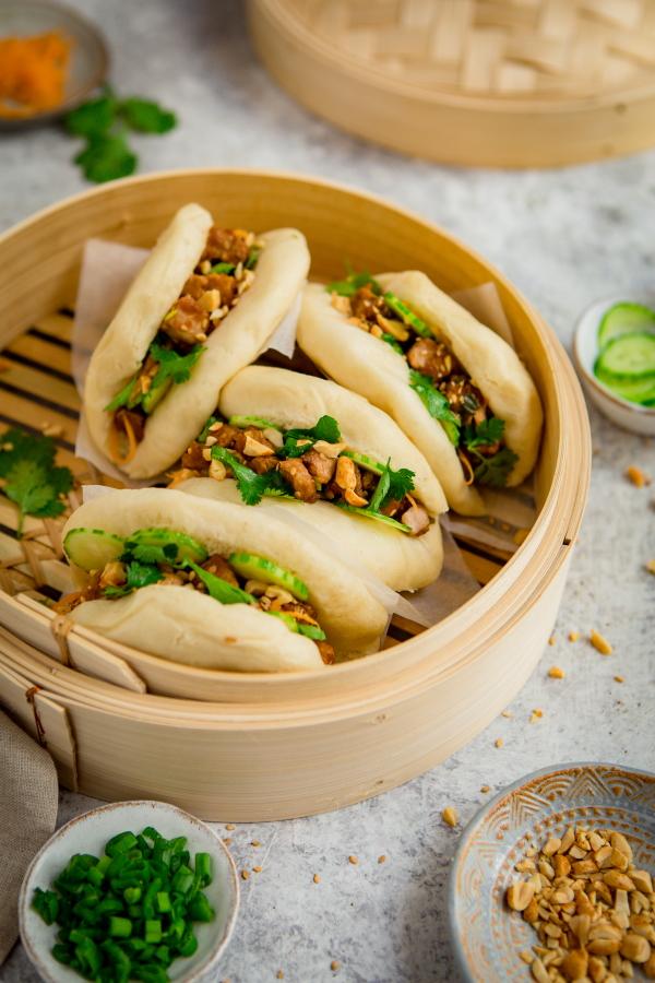 Gua Bao au porc confit