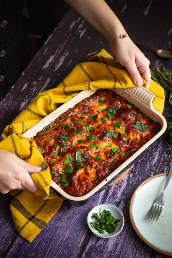 Recette de lasagnes aux aubergines et ricotta