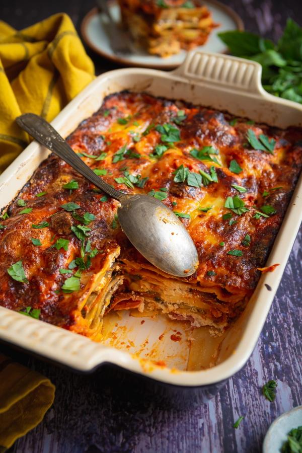 Recette de lasagnes aux aubergines