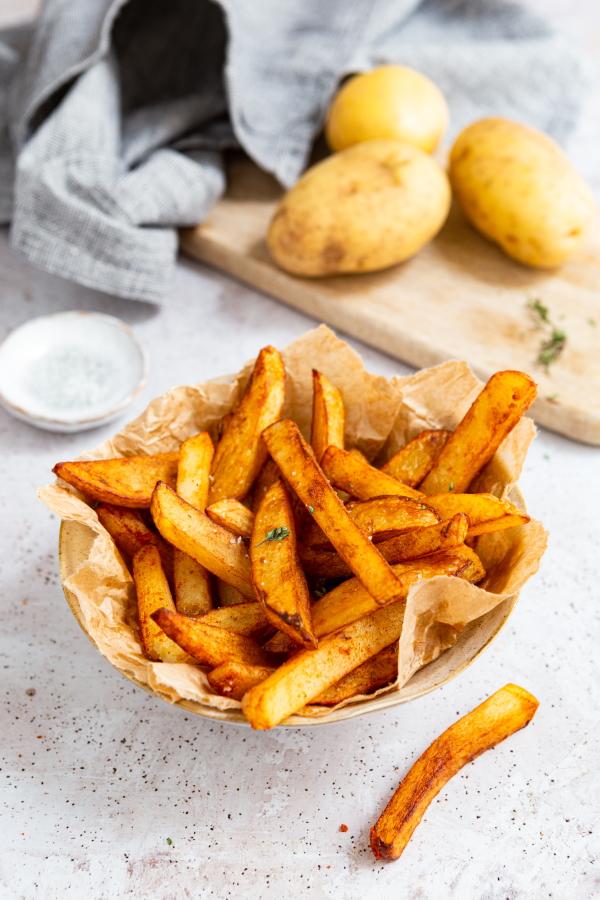 Comment faire des frites maison ?