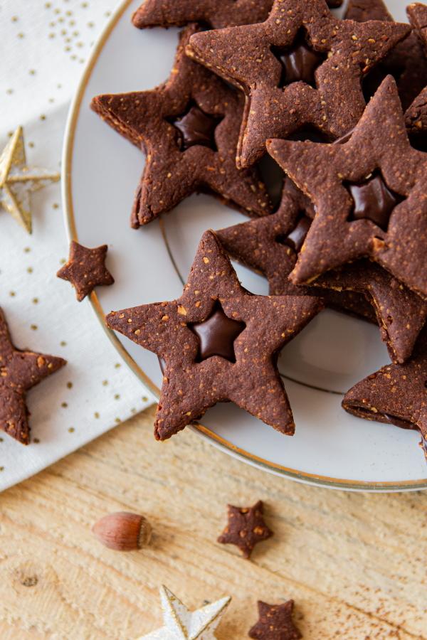 Sablés ou biscuits de Noël au chocolat