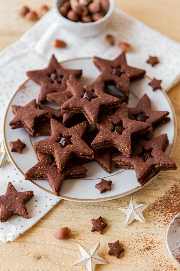 Comment faire des biscuits de Noël au chocolat ?