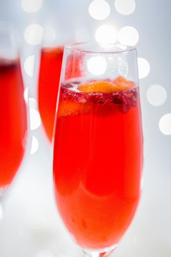Cocktail au gin et à la mandarine