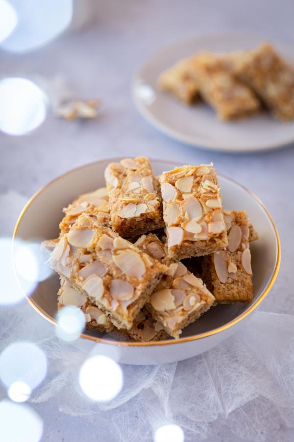 Recette de gâteau amande et miel pour Noël