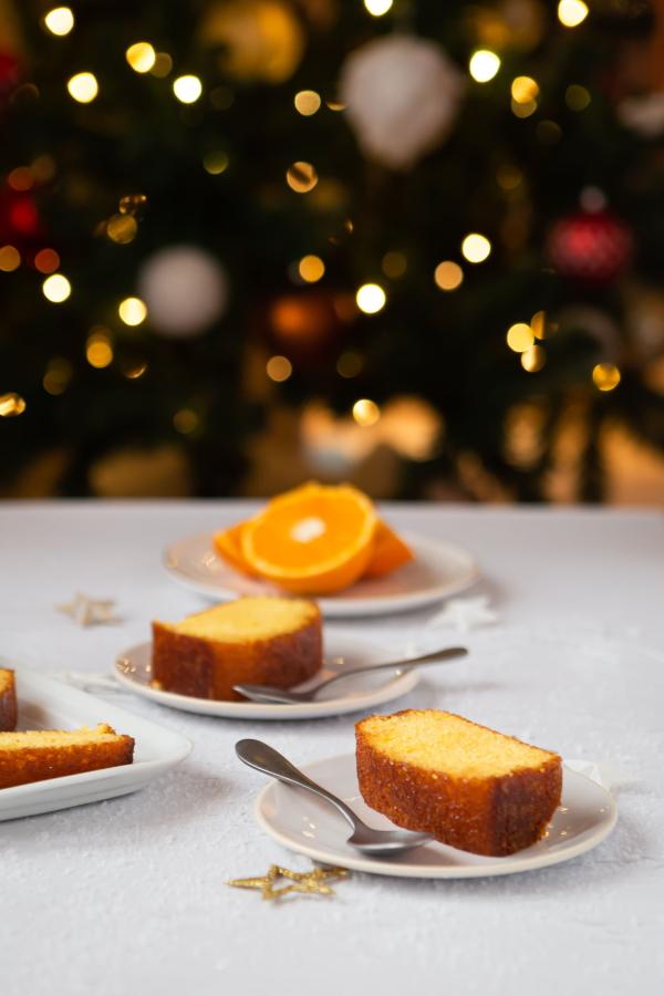 Recette de gâteau à l'orange