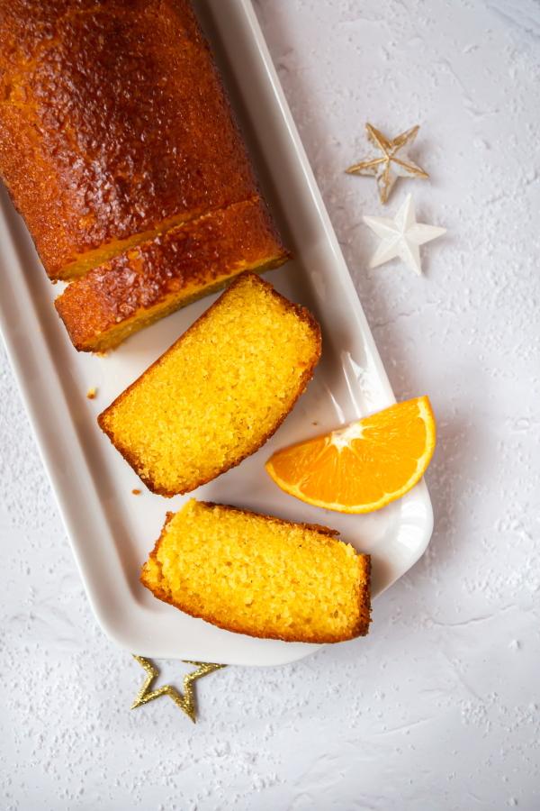 Le gâteau à l'orange de la Mère Blanc