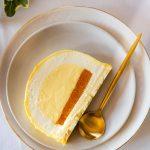 Bûche de Noël tarte au citron