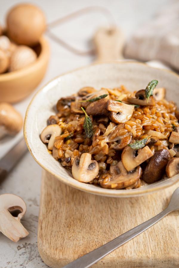 Comment cuisiner l'épeautre ? En risotto !