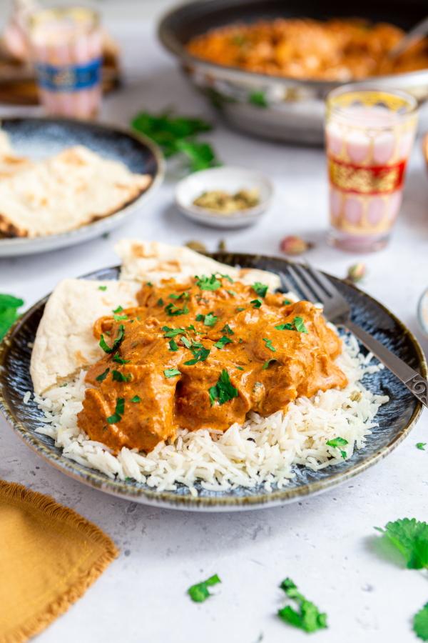 Recette indienne du butter chicken