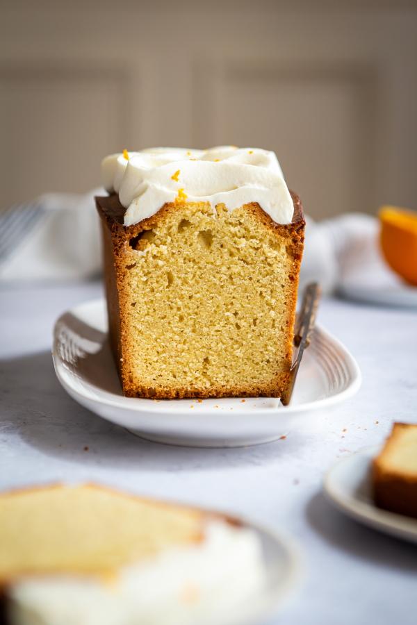 Cake facile à l'amande et à la vanille
